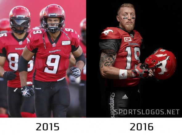 Calgary Stampeders Compare