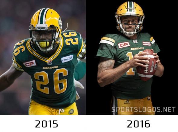 Edmonton Eskimos Compare