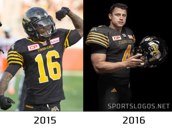 Hamilton TigerCats compare