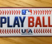 MLB 2016 Play Ball Patch
