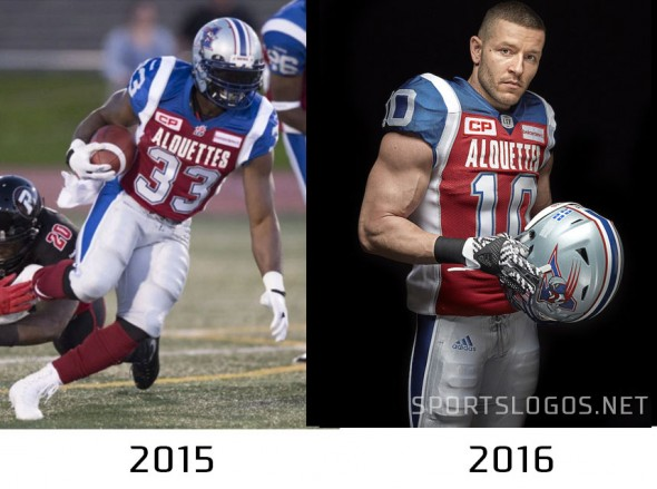 Montreal Alouettes compare