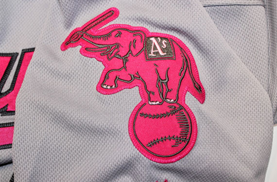 MLB Teams Wearing Pink Uniforms for Mother's Day Today