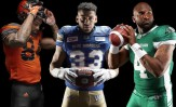 New CFL Adidas Uniforms