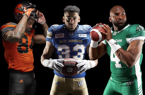 CFL Unveils New Adidas Uniforms Across League