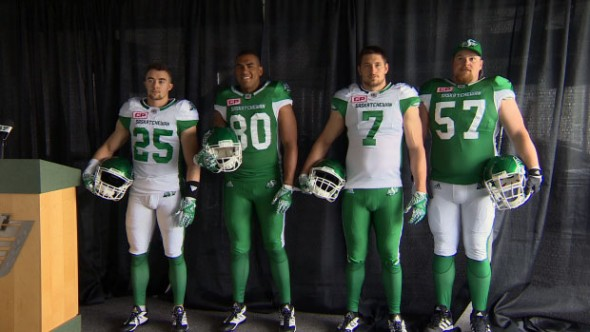 New Roughriders unis