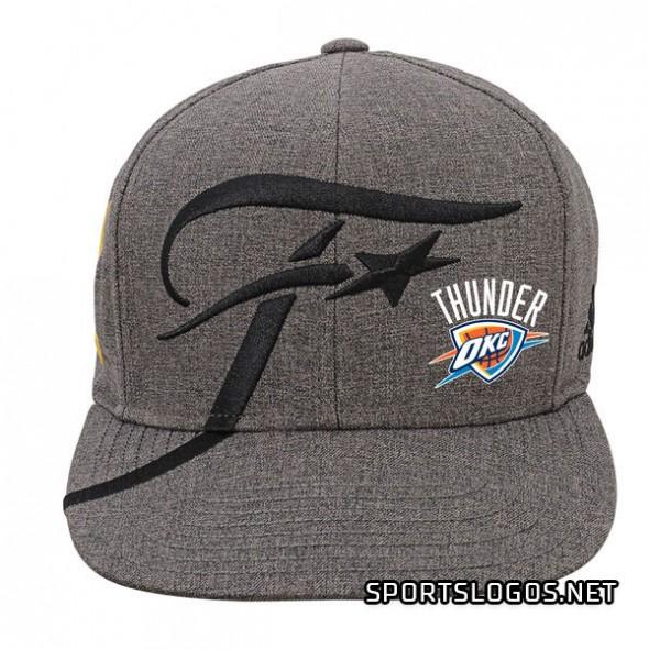 "buy online a2767 05d0d Oklahoma City Thunder 2016 West ""Phantom"" Champs Merchandise ..."