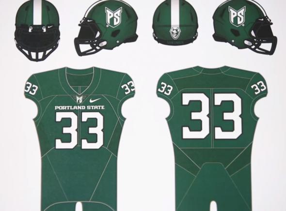 Portland State uniforms 1