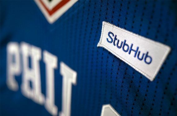Sixers StubHub Patch