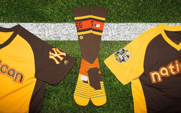 Stance socks to be worn by players in the 2016 Home Run Derby