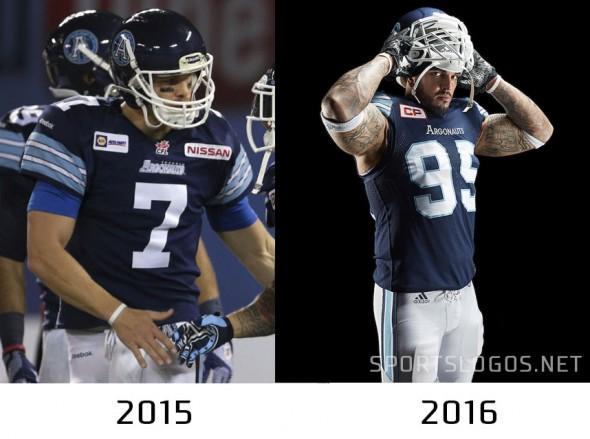 Toronto Argos compare