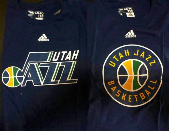 Utah Jazz 16 17 logo