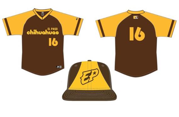 El Paso Chihuahuas to wear retro Padres uniforms