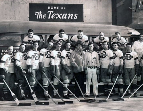 Dallas Stars Planning 1940s Texans Throwback?