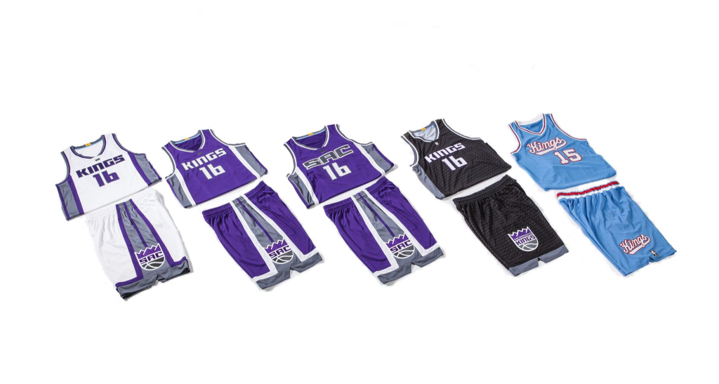 Sacramento Kings go ahead and officially unveil new uniforms