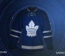 LEAFS HOME BLUE JERSEY LEAK