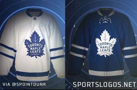 Leafs New Uniforms Leaked