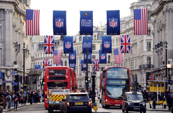 London is still considered a candidate for NFL expansion or relocation