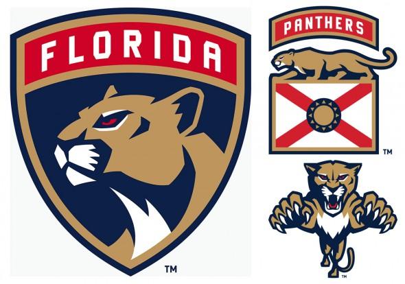 New Florida Panthers logos