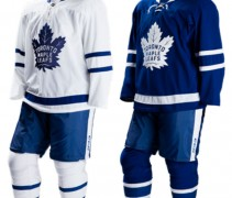 New Leafs Uniforms - Home and Away