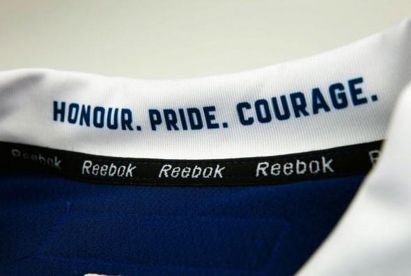 New Leafs Uniforms - Inside collar