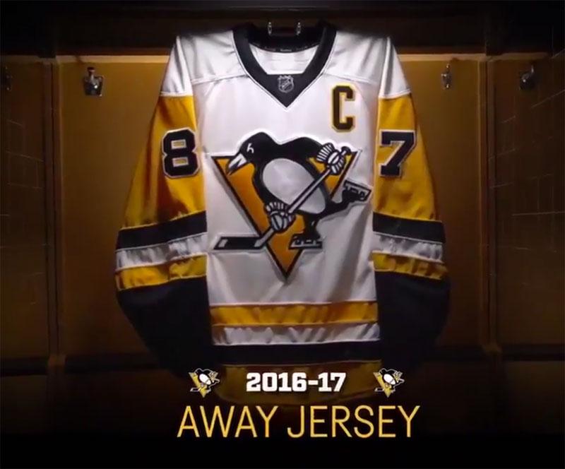 Penguins Make Retro Gold Official, Unveil New Uniforms
