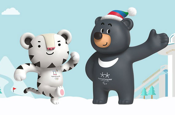 They're grrrrreat! 2018 Olympic mascots not too creepy or terrifying