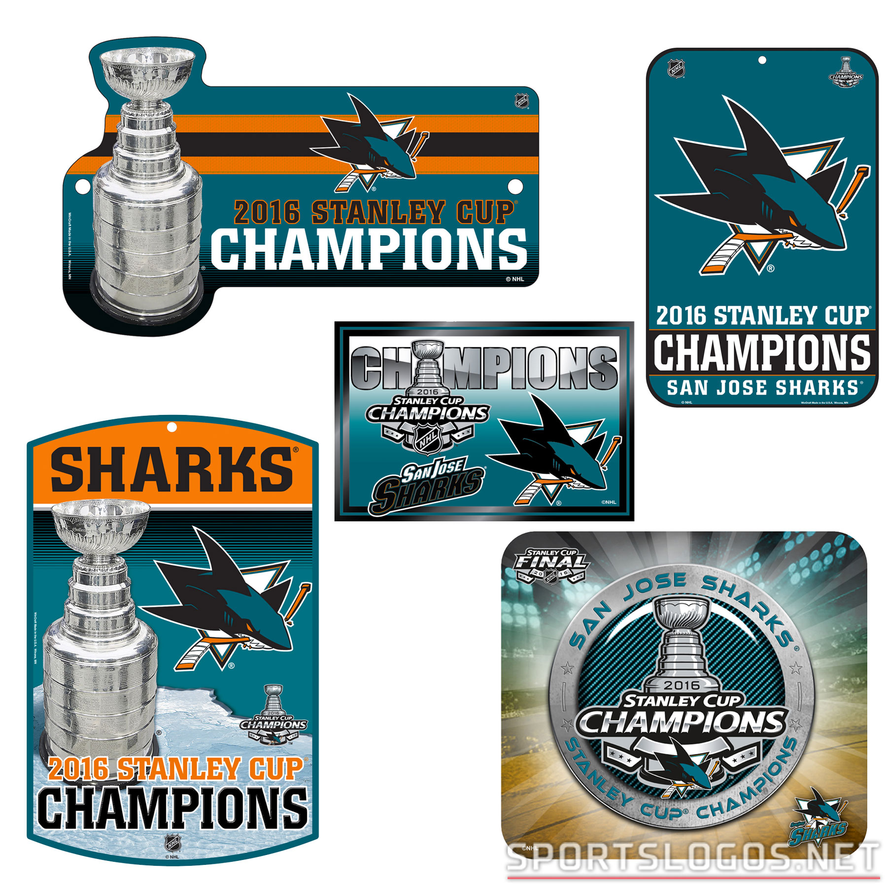 What If? San Jose Sharks 2016 Stanley Cup Champs Merchandise