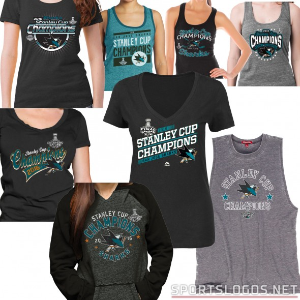 Sharks SC women's shirts