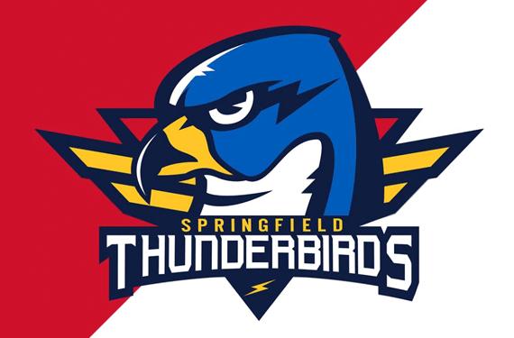 AHL: Springfield Thunderbirds Announce New Name, Logo