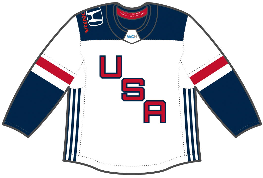 NHL Sells Ad Space on World Cup Jerseys