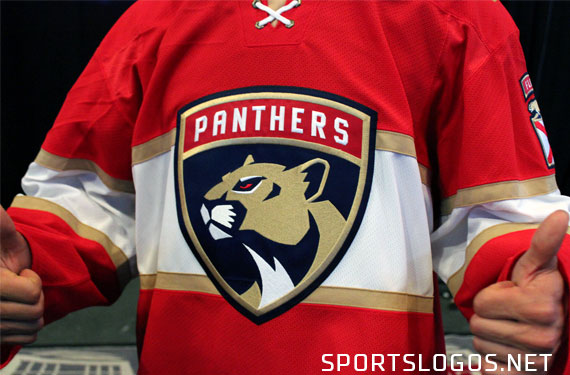 Florida Panthers Unveil New Look Logo and Uniforms
