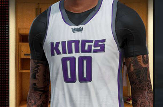 2016-17 Sacramento Kings Jerseys Leaked