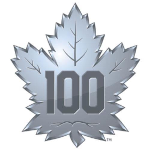 2016-17 LEAFS 100th ANNIVERSARY LOGO