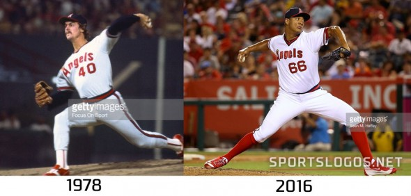 Angels 1978 vs 2016 Compare