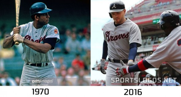 Atlanta Braves 1970 vs 2016 Compare