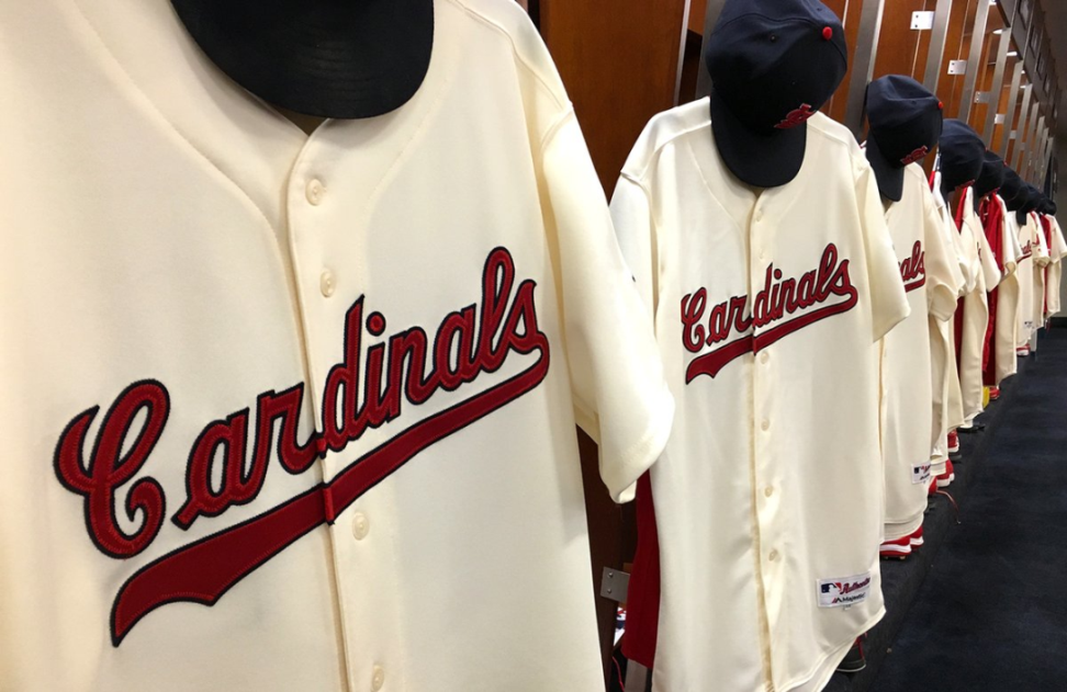 10f86855f71a St. Louis Cardinals will wear throwbacks from 1956 against Dodgers ...
