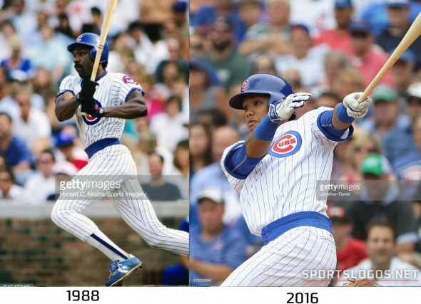 Chicago Cubs 1988 vs 2016 Compare
