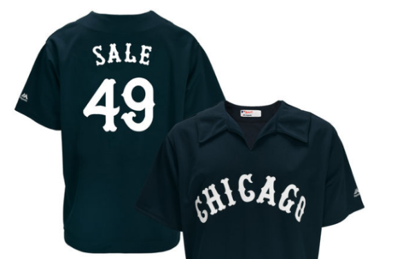 Fan gets creative with Chris Sale jersey