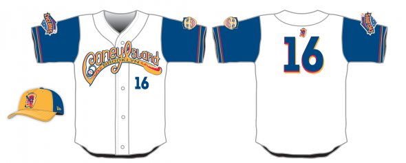 Coney Island Franks Uniform