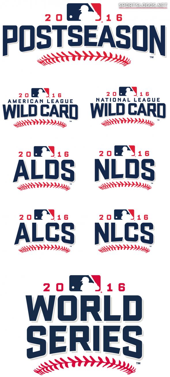 MLB 2016 POSTSEASON LOGOS