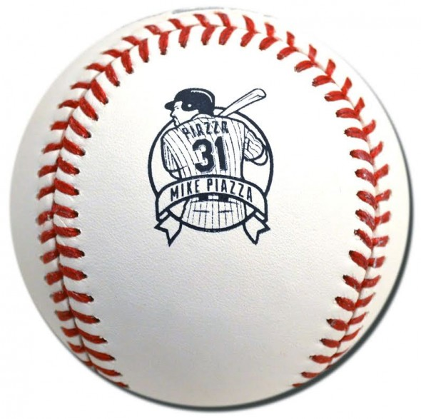 Mike Piazza Logo Ball in 2016