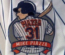 Mike Piazza Patch Mets
