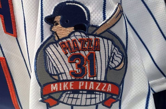 Mets to Wear Piazza Patch Saturday
