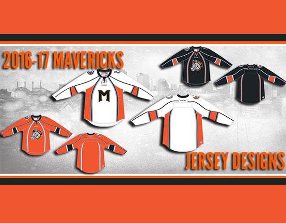 Missouri Mavericks ECHL 2017 new uniforms