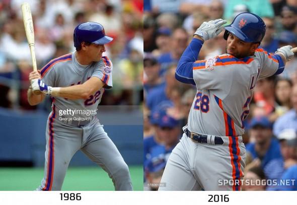 New York Mets 1986 vs 2016 Compare 2