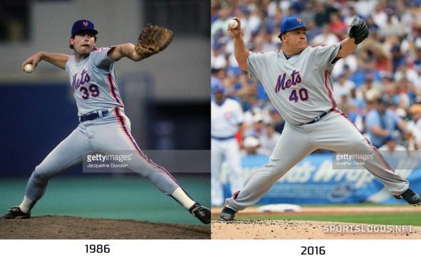 New York Mets 1986 vs 2016 Compare