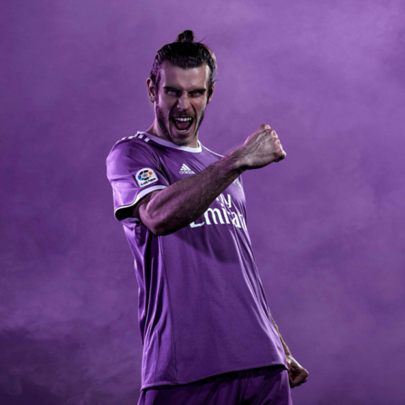 Real Madrid Barca purple