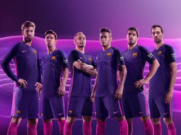Real Madrid barca purple 1