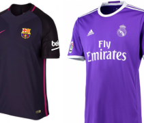 Real Madrid barca purple f