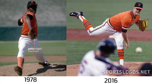 San Francisco Giants 1978 vs 2016 Compare 2